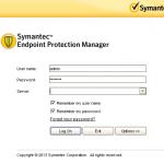 Symantec EndPoint Protection Ekran Görüntüsü