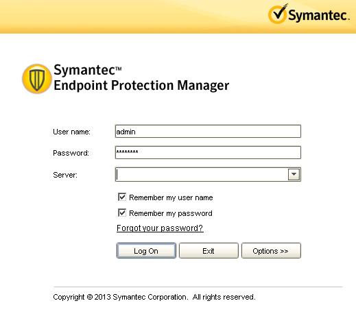 Symantec Endpoint Protection Wildcard Sertifika Yükleme