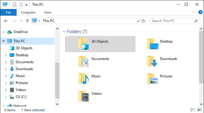 windows-10-dosya-gezgininde-3d-objeleri-kaldirma-1